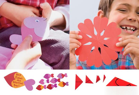 Как сделать подарок для детей из бумаги