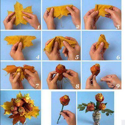 Как сделать икебану из природного материала