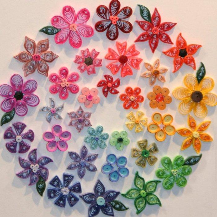 Мастер классы цветов из квиллинга