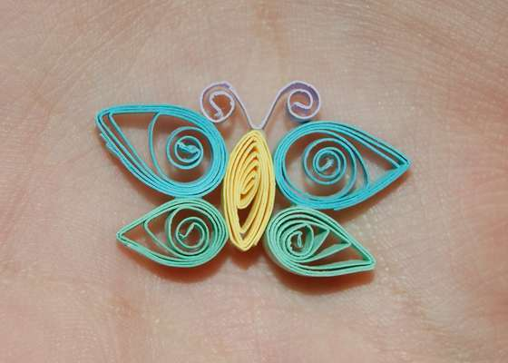Квиллинг как сделать бабочку