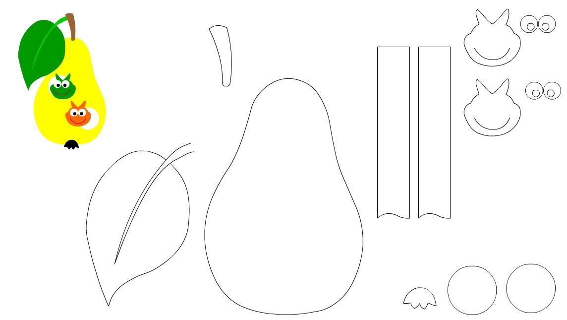 Шаблоны аппликации из бумаги