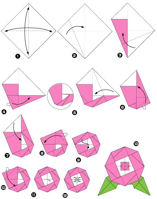 Поделки из бумаги своими руками для детей 4-5 лет фото