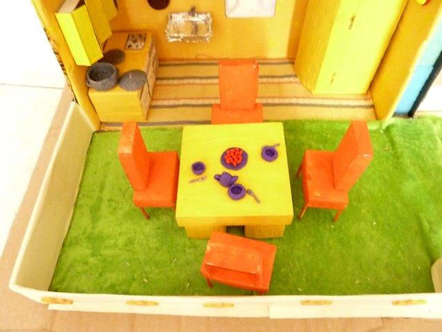 Мебель из спичечных коробков своими руками инструкция 15