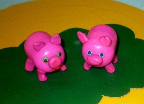 Поделки из киндер яиц и пластилина своими руками для детского сада 27