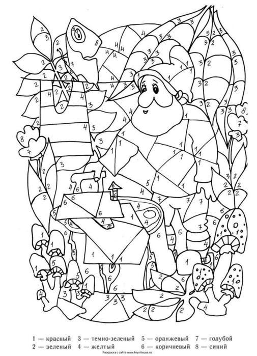 Раскраски для мальчиков сложные распечатать - 6